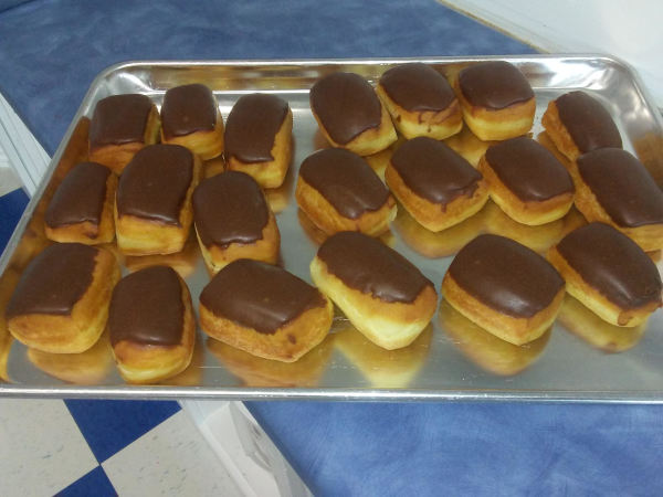 Mini Eclairs, great for custom party orders